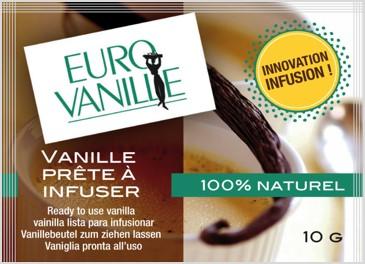 Gousses de vanille prêtes à infuser en sachet