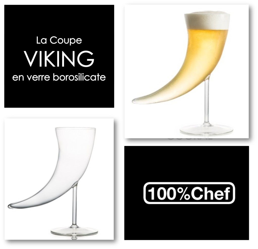Coupe Viking 35 cl par 100 % Chef