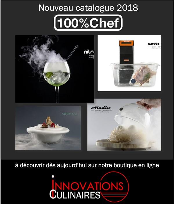 Nouveau catalogue 100 % Chef